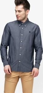 Niebieska koszula Timberland w stylu casual