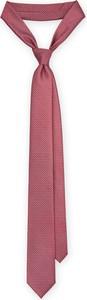 Różowy krawat LANCERTO
