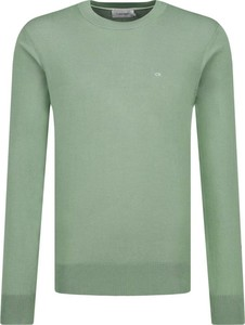 Zielony sweter Calvin Klein w stylu casual