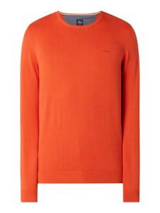 Pomarańczowy sweter S.Oliver Red Label