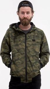 Zielona kurtka Iriedaily w militarnym stylu