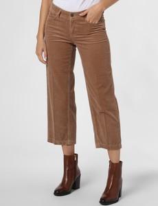 Spodnie Cambio ze sztruksu