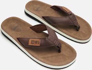 Brązowe buty letnie męskie Cropp
