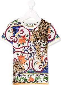 Bluzka dziecięca Dolce & Gabbana Kids z bawełny