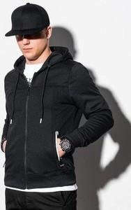 Czarna bluza Ombre z bawełny