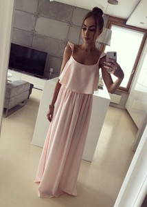 Różowa sukienka Tenezito.com.pl maxi