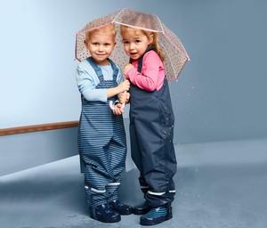Spodnie dziecięce Tchibo w paseczki dla chłopców