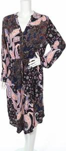 Sukienka St. Frock midi z długim rękawem