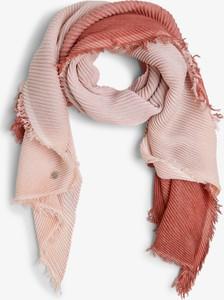 Różowy szalik Marc Cain