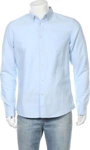 Niebieska koszula Tiffosi z długim rękawem