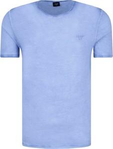 T-shirt Joop! Jeans w stylu casual z krótkim rękawem