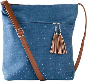 Niebieska torebka bonprix