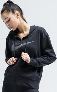 Czarna bluza Nike krótka w sportowym stylu