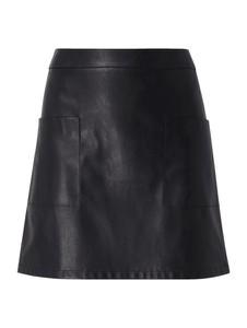 Spódnica BOSS Casual mini w stylu casual ze skóry ekologicznej