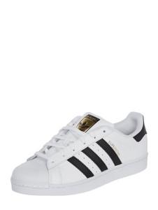 Trampki Adidas Originals sznurowane na koturnie superstar