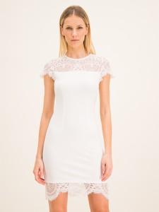 Sukienka Twinset z okrągłym dekoltem w stylu casual mini