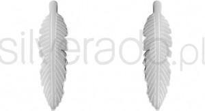 Silverado kolczyki w kształcie listków - 77-ka076