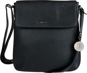 Czarna torebka Justbag średnia