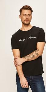 T-shirt Emporio Armani z lnu