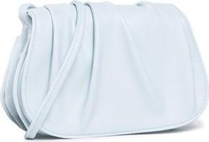 Niebieska torebka DeeZee na ramię matowa średnia