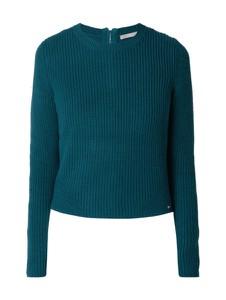 Niebieski sweter Jake*s Collection z bawełny w stylu casual