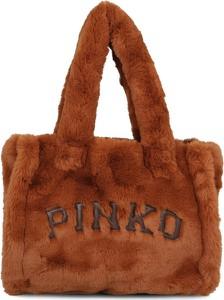 Torebka Pinko lakierowana duża
