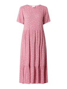 Sukienka Vila z krótkim rękawem w stylu casual