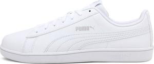 Buty sportowe Puma sznurowane ze skóry ekologicznej