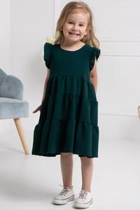 Zielona sukienka dziewczęca KARKO