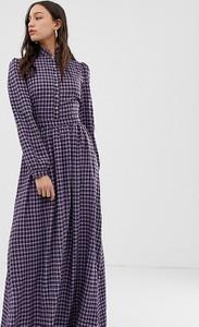 Sukienka Glamorous maxi z długim rękawem