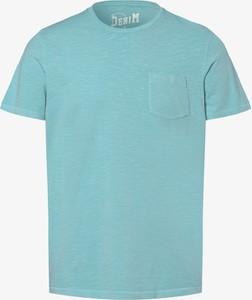 T-shirt DENIM by Nils Sundström z krótkim rękawem w stylu casual
