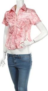 Różowa bluzka Hashun z krótkim rękawem