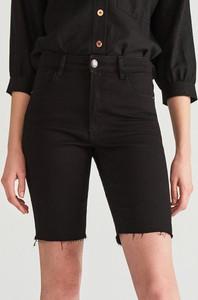 Czarne szorty Reserved w street stylu