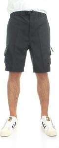 Czarne spodenki Carhartt WIP w stylu casual z bawełny