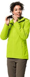 Zielona kurtka Jack Wolfskin