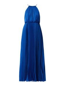 Niebieska sukienka Paradi maxi bez rękawów