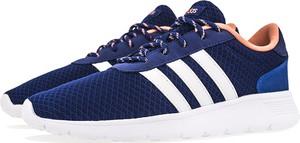 Buty sportowe Adidas z płaską podeszwą ze skóry w sportowym stylu
