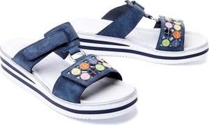 Sandały Rieker w stylu casual na rzepy