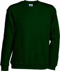 Zielona bluza James & Nicholson
