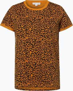 Pomarańczowy t-shirt Marie Lund z krótkim rękawem