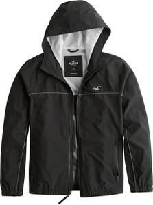 Czarna kurtka Hollister Co. w stylu casual