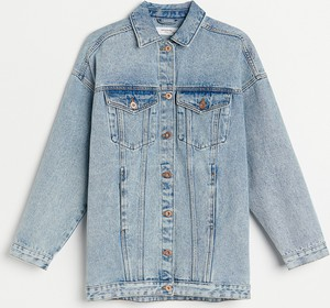 Kurtka Reserved z jeansu krótka w stylu casual