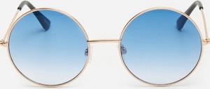 Niebieskie okulary damskie House