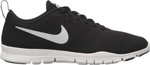 Czarne buty sportowe Nike na platformie sznurowane