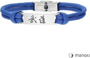Manoki BA711N niebieska bransoletka BUDO