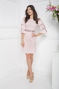 Różowa sukienka Marcelini