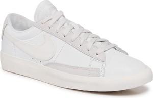 NIKE Buty Blazer Low Leather CW7585 100 Biały