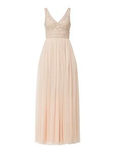 Sukienka Lace & Beads z dekoltem w kształcie litery v