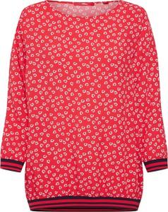 Bluzka S.Oliver Red Label z okrągłym dekoltem