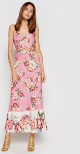 Sukienka Maaji trapezowa na ramiączkach z dekoltem w kształcie litery v